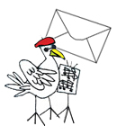 Picture of The Weatherbird Postman